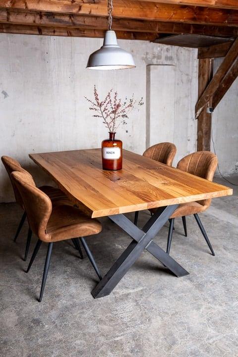 Altholz Tisch Eiche 4cm vollmassiv.