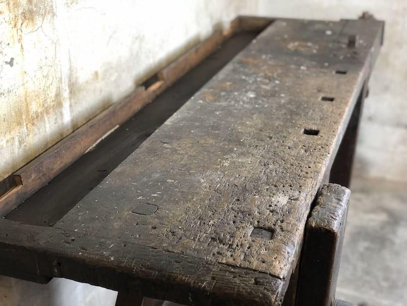 Werkbank als Sideboard
