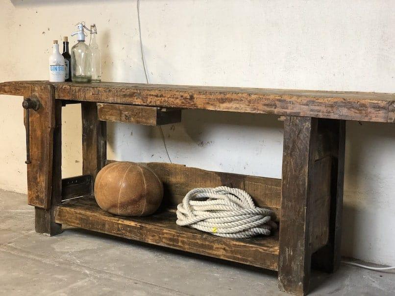 Industrial Werkbank als Sideboard
