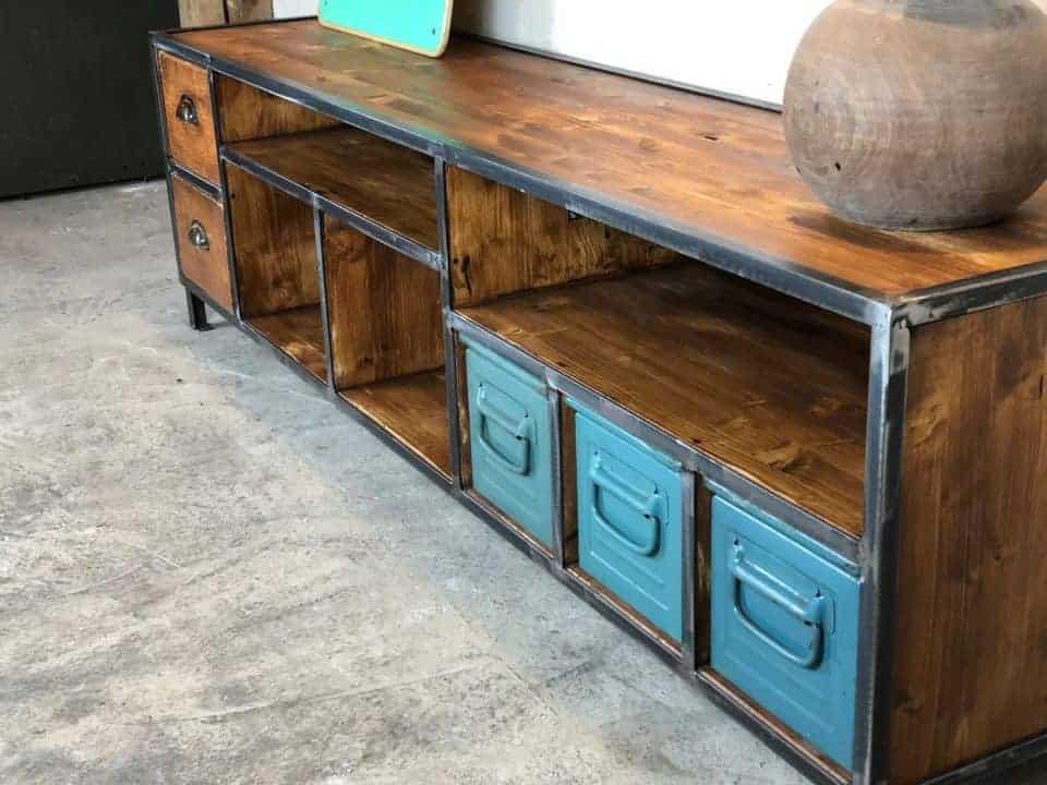 Industrial Möbel Lowboard